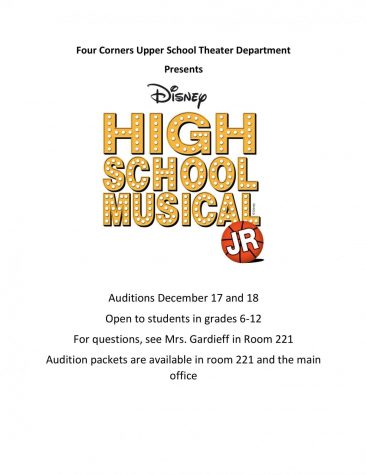 High School Production Auditions