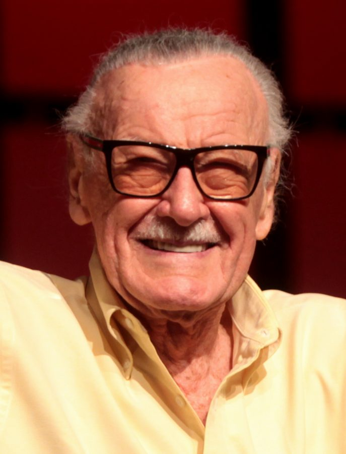 The late Stan Lee during an appearance at 2014 Pheonix Comic Con (Comic Con photographers)