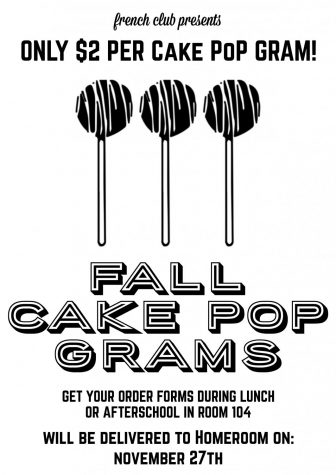 Fall Cake Pop Gram: French Club