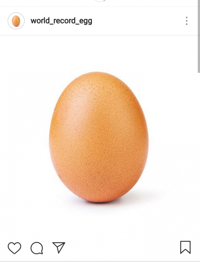 The Eggcellent World Record Breaking Instagram Post
