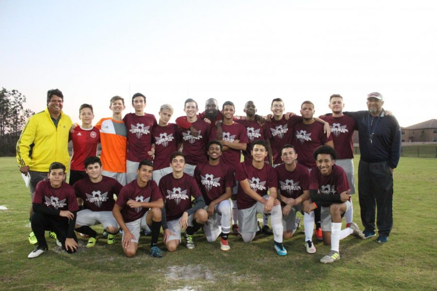Soccer Team Reigns Victorious