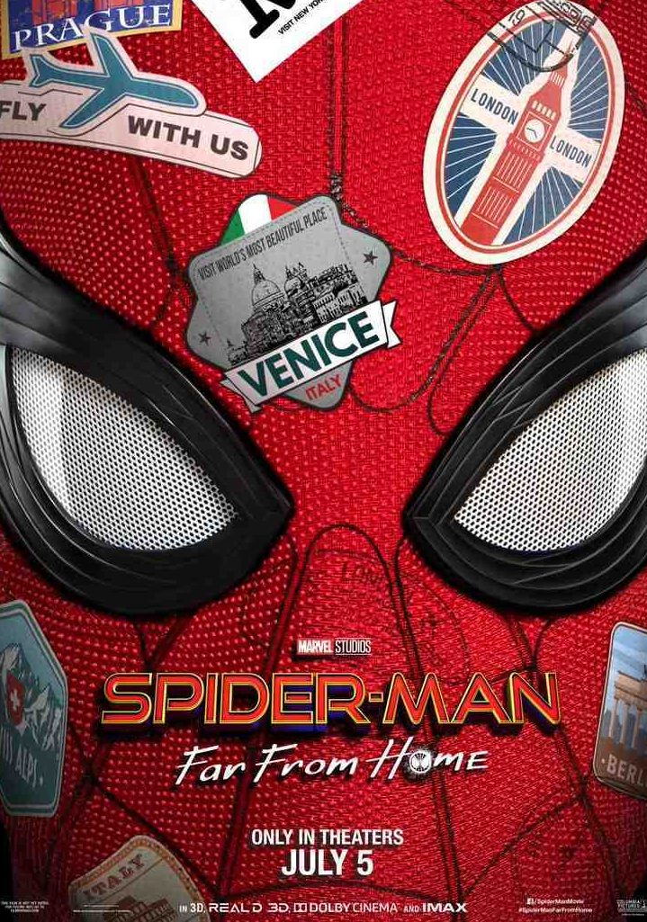 Poster for Spiderman: Far From Home (Sony Pictures/Marvel)