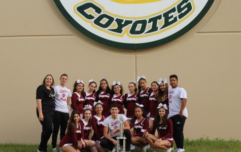 Cheer Squad Successful Once Again; Take Home Their Second 1st Place Award