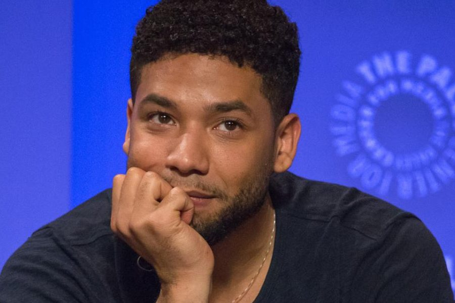 Photograph of Jussie Smollett taken before allegations were reported.