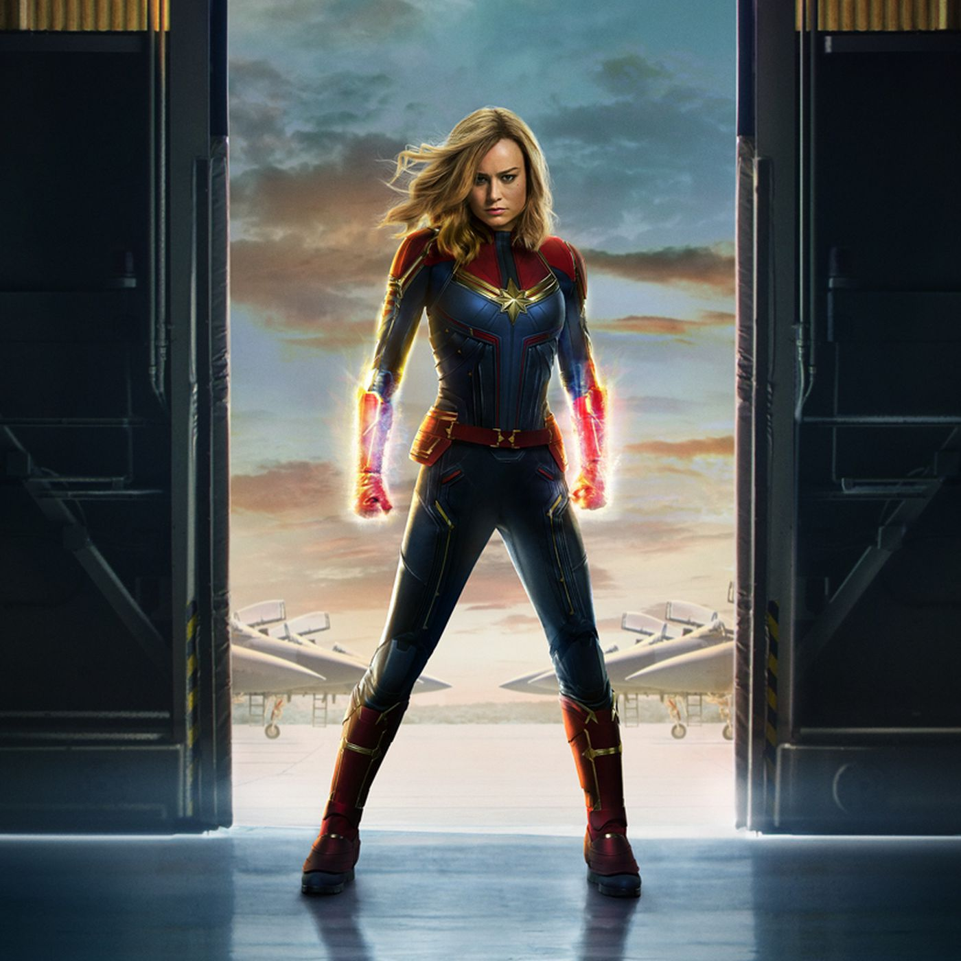 Movie poster for Captain Marvel.