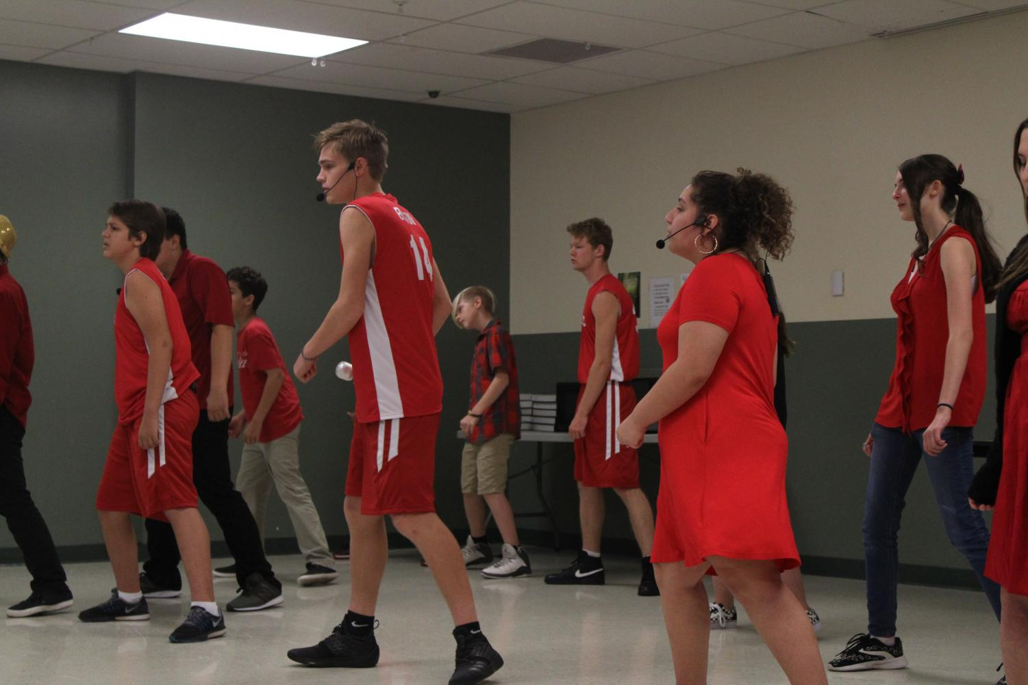High School Musical Jr. cast performs the song