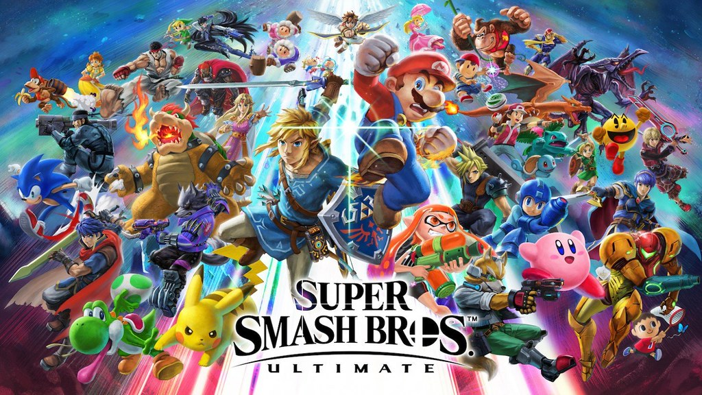 Artwork from Nintendo for Super Smash Brothers Ultimate.
