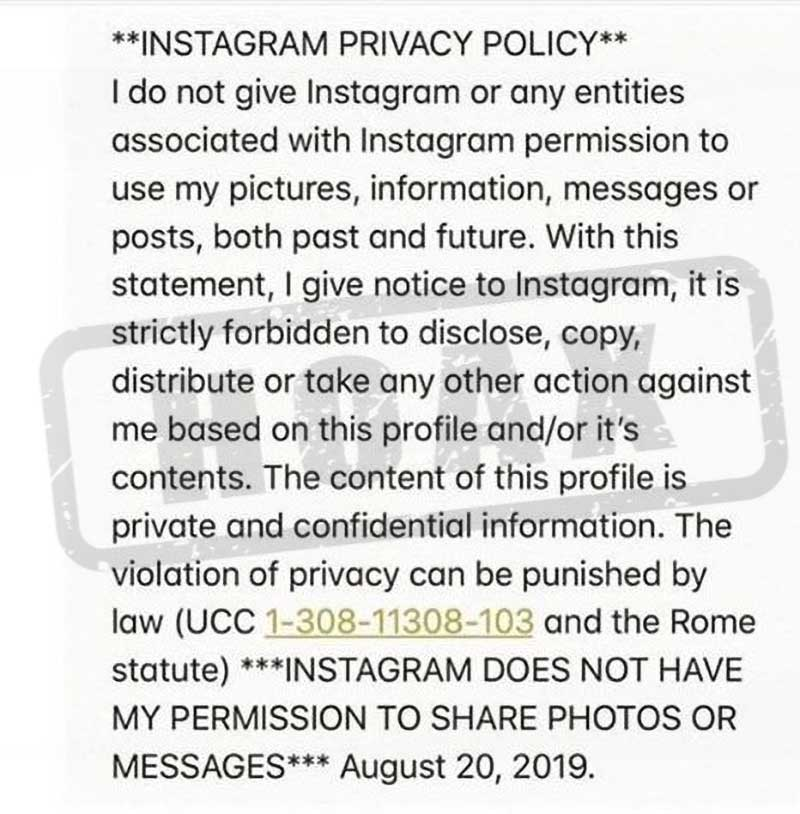 Instagram's Sudden Policy Change?