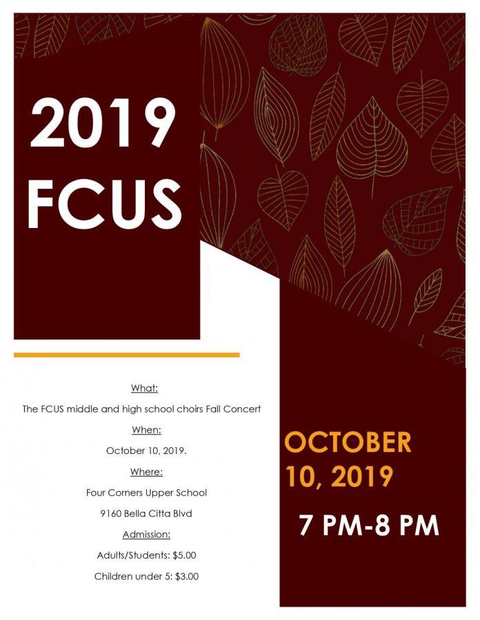 2019 Fall Concert