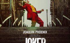 Movie poster for Joker.