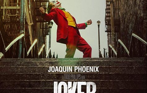 Movie poster for Joker.
