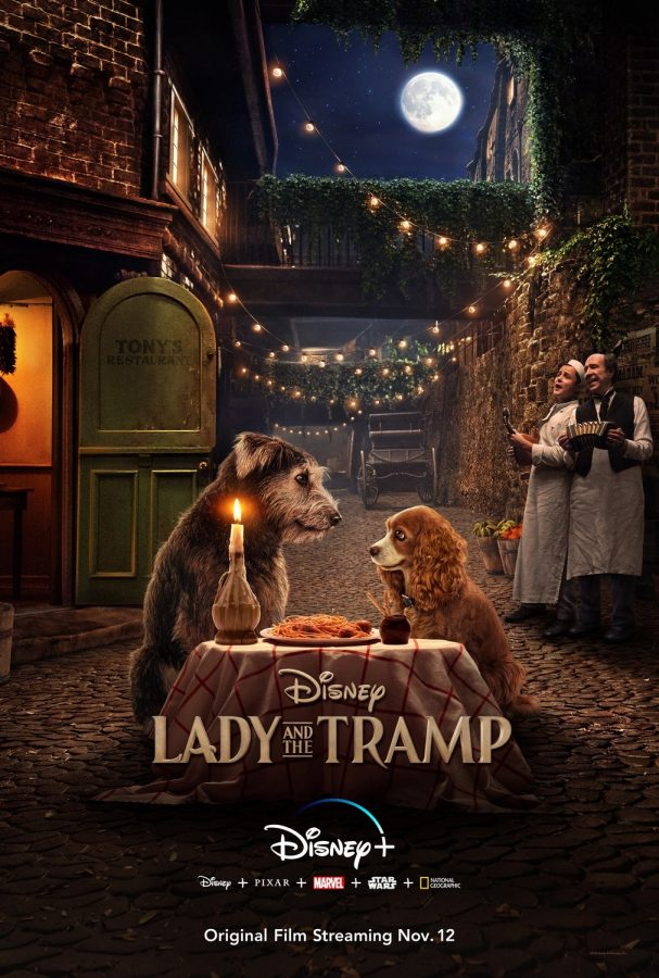 Movie poster 2019 rendition for Lady and the Tramp.