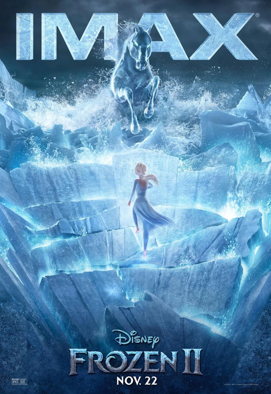 Movie poster for Disney's 'Frozen 2'.