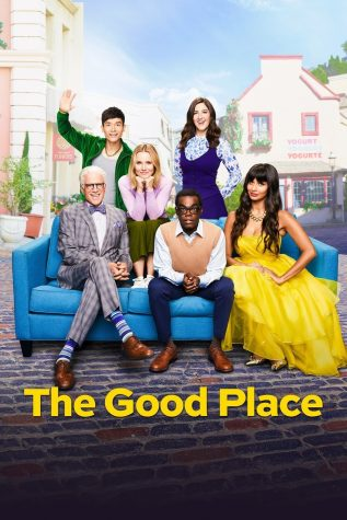 """TV poster for """"The Good Place""""."""