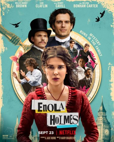 Enola Holmes Movie Poster.