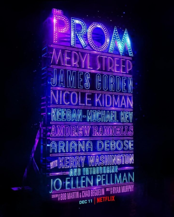 The Prom movie poster.