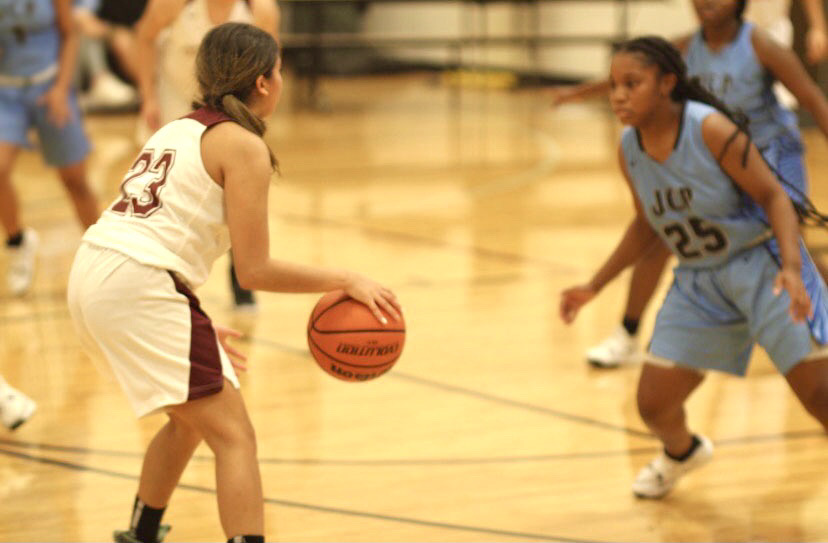 Girl's basketball team implements new approaches to their game.