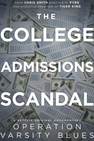 Documentary poster for Operation Varsity Blues The College Admissions Scandal. Courtesy of Netflix.