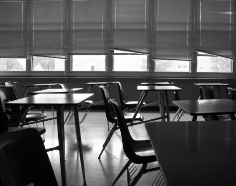 Empty Classroom by Max Klingensmith is licensed under CC BY-ND 2.0.